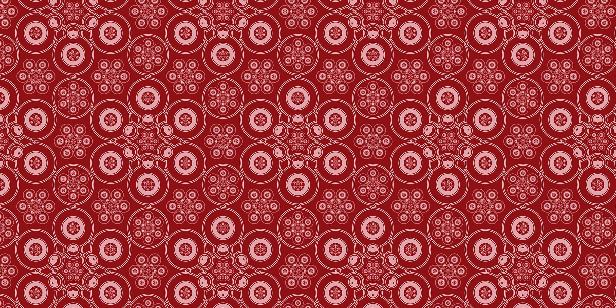 Wallpaper edition for The Matryoshka Dolls, from The Fractal Architectures series